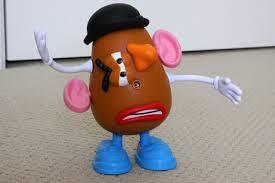 mixed up potato head