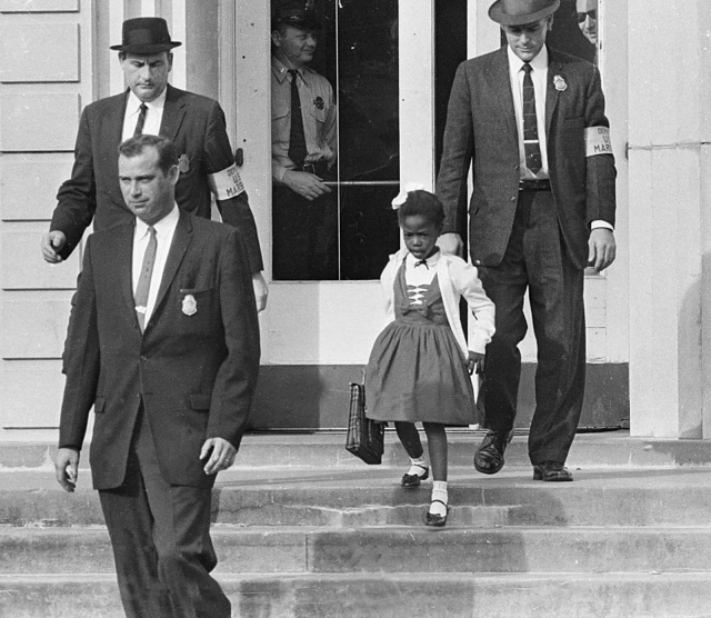 Image result for picture of ruby bridges as a child